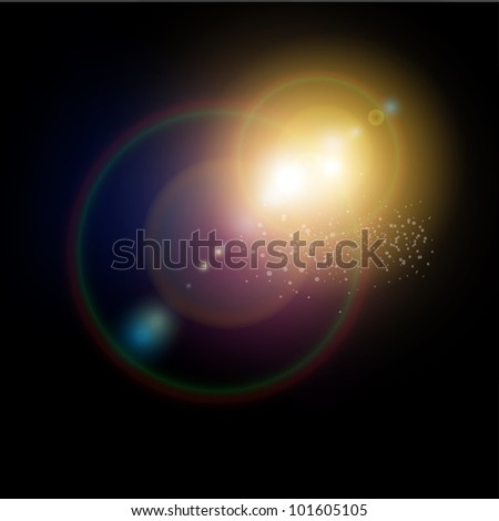 abstract background deep space