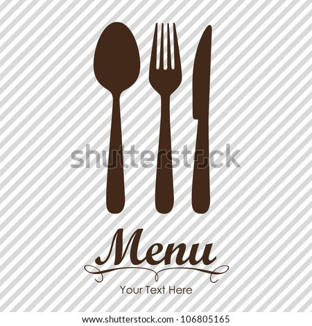 elegant card for restaurant