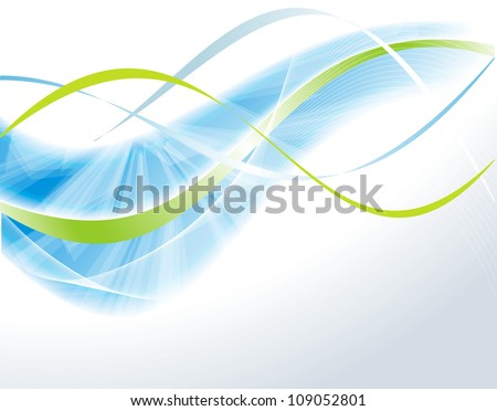 vector awesome abstract blue