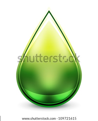 hi tech water drop icon