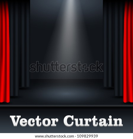 vector curtain