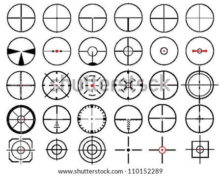 set of thirty vector cross
