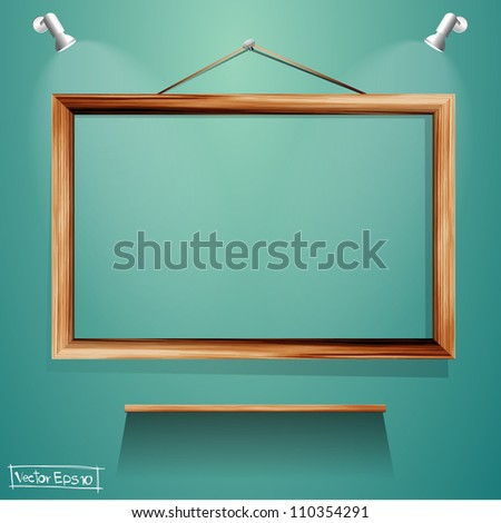 vector wood frames and wood