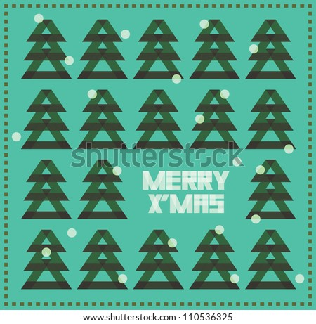 christmas tree  background of