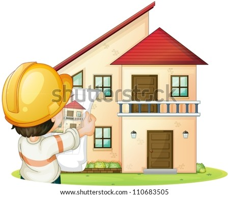 illustration of a house and