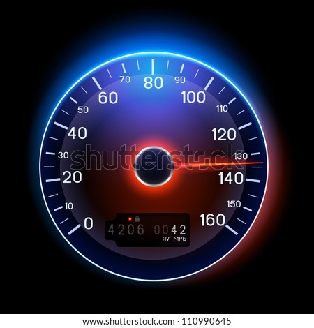 a vector speedometer