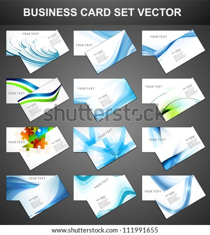 abstract various 12 business