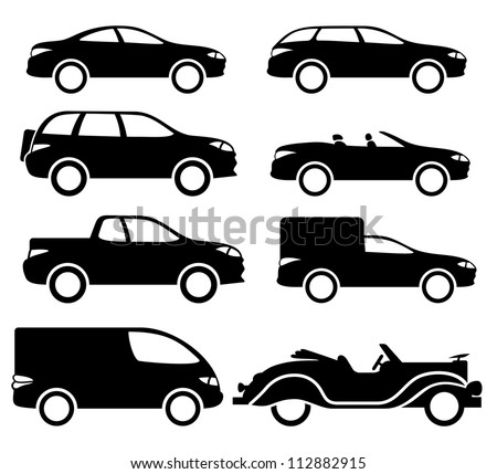 Car Vector Icon vector black cars