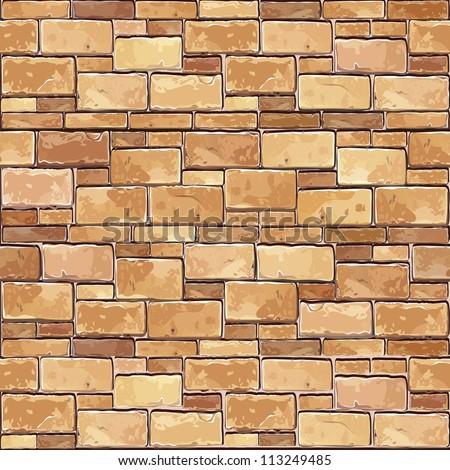 stone brick wall seamless