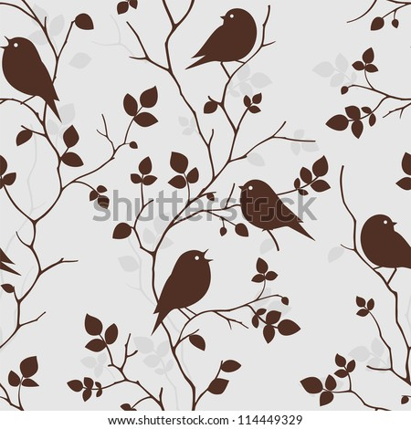 pattern seamless with birds