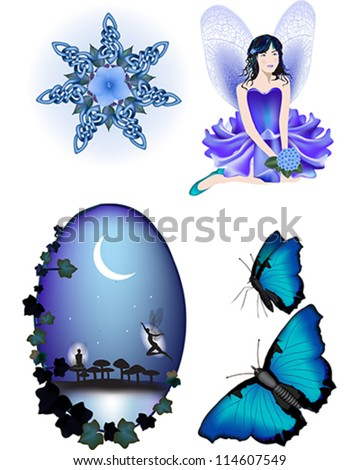enchanted vector illustration