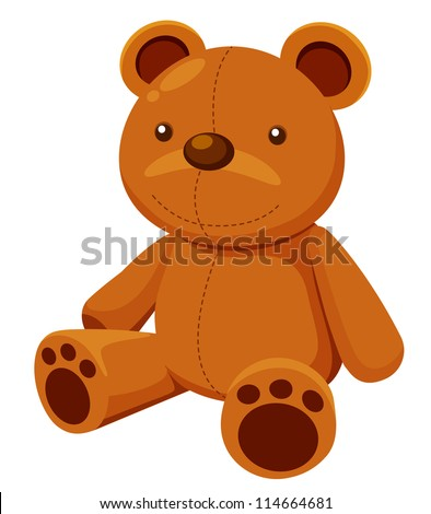 illustration of teddy bear