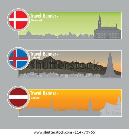 travel banners  denmark