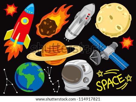 space doodle set