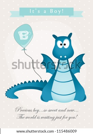 baby boy monster shower