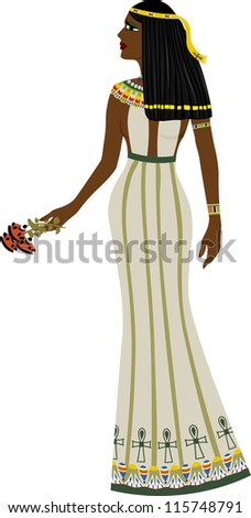ancient egyptian woman full