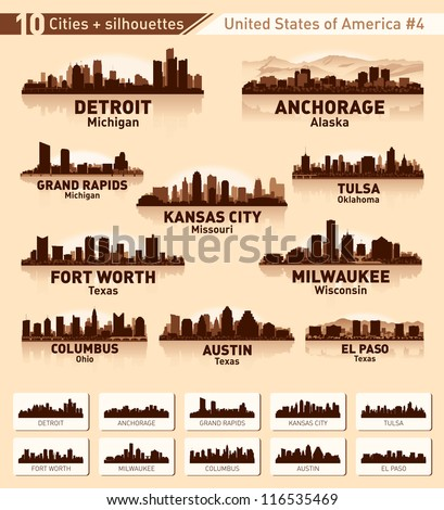 skyline city set 10 cities of