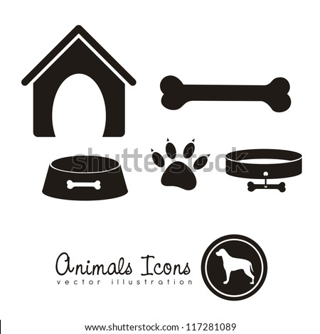illustration of animal icons