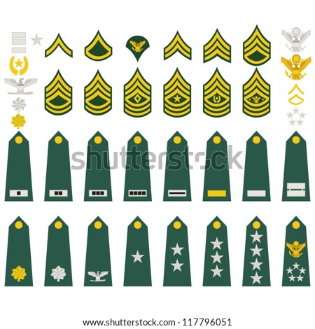 epaulets  military ranks and