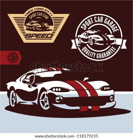 sports car vector sports car