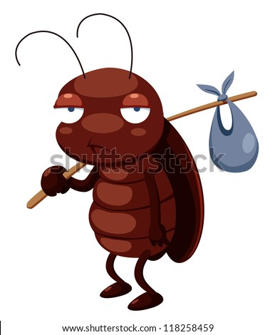 illustration of cockroach