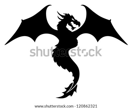 vector dragon