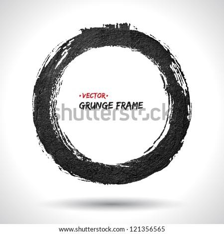 grunge vector frame grunge
