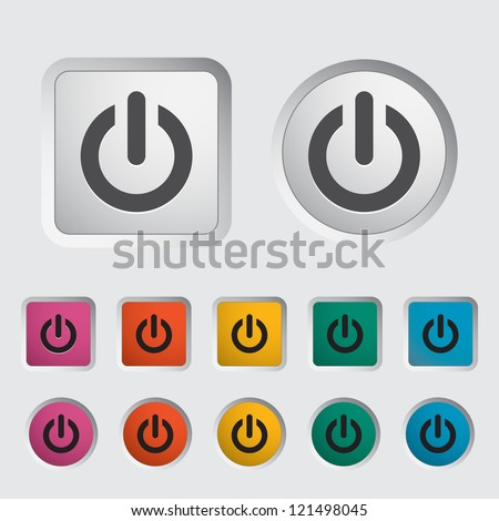 start icon vector illustration