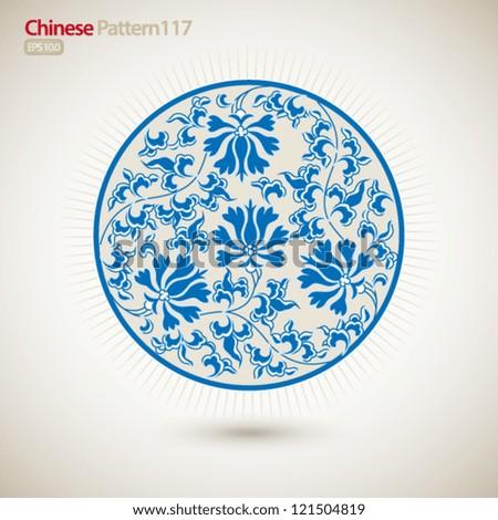 vintage chinese pattern