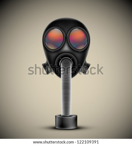 gas mask  vector esp10