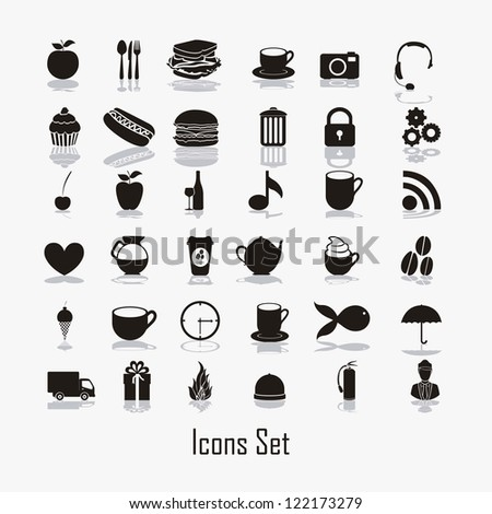 food icons illustration  icon