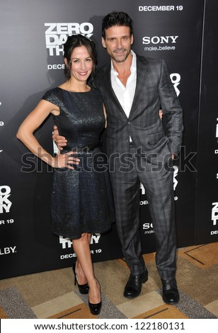 Wendy Moniz and Frank Grillo
