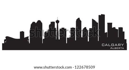 calgary  canada skyline
