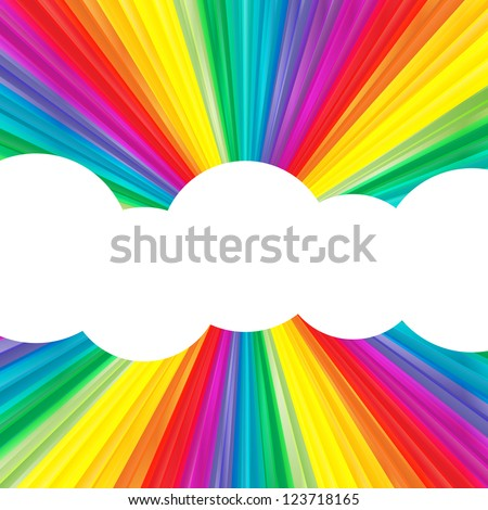 color burst vector background