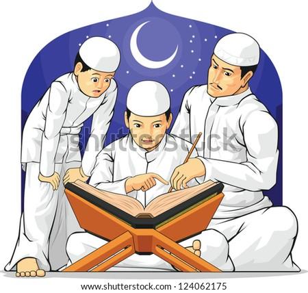 kids learn to read al quran