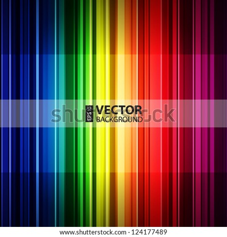 abstract retro striped colorful