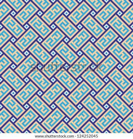 orient style pattern texture