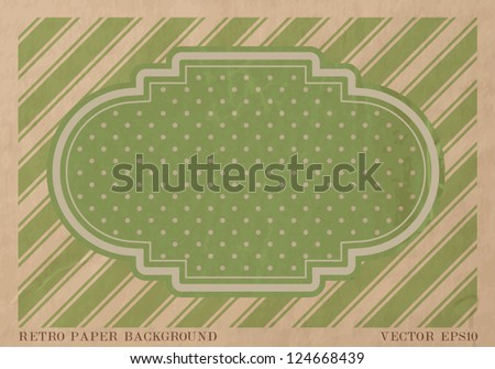 vector vintage faded paper