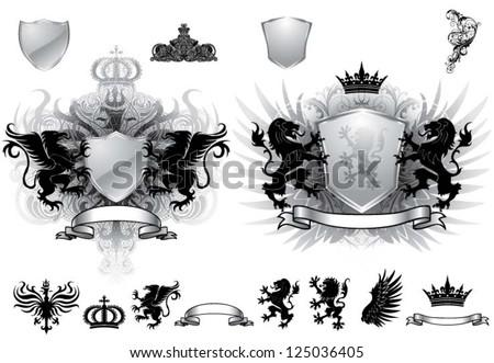 heraldry gray crest
