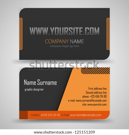 fashion business card template free vector download 32 669 free