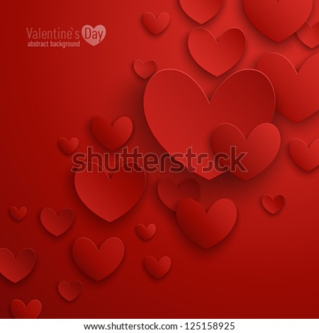 valentine s day abstract