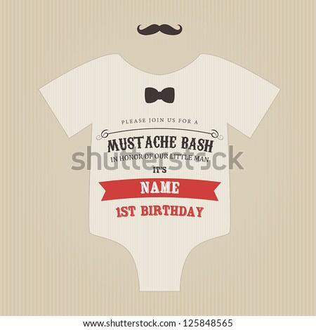 funny vintage baby birthday