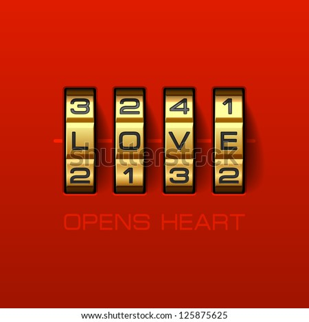 love opens heart combination