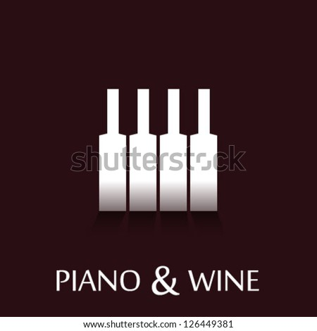 vine   piano corporate identity
