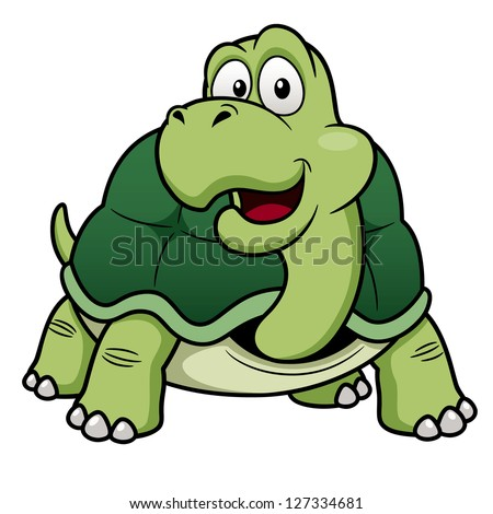illustration of cartoon turtle