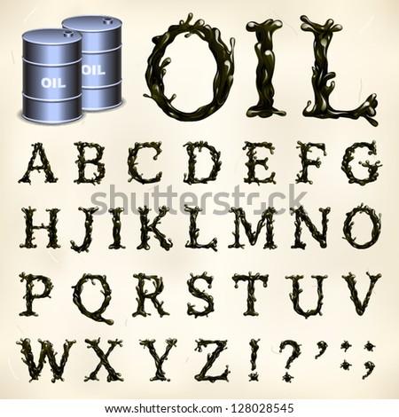petroleum font  1 3 caps