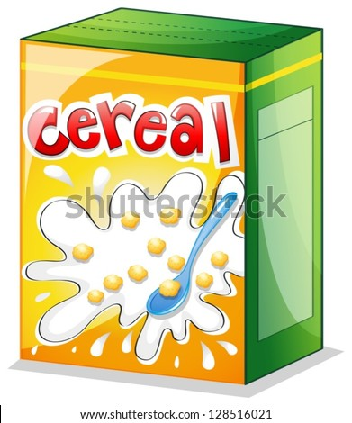 illustration of a cereal on a