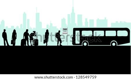 bus stop  city live