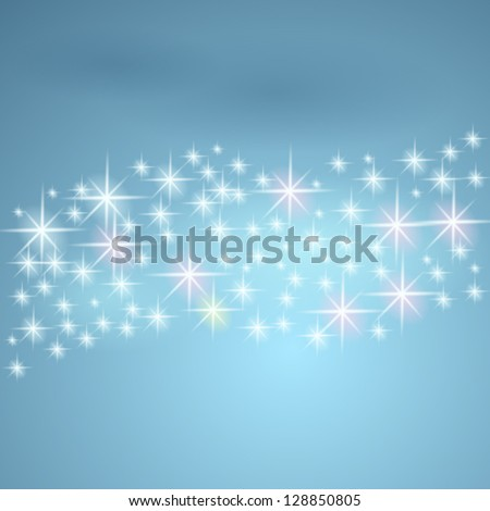 stars and night sky vector