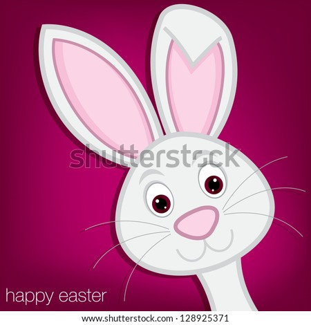 hiding easter bunny card in